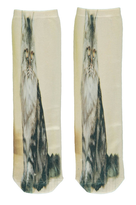 2 Pairs Socks - Cat & Indian