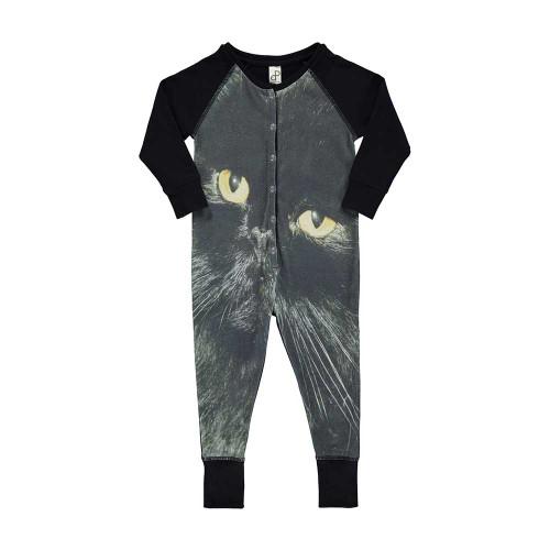 Black Cat One Piece Suit
