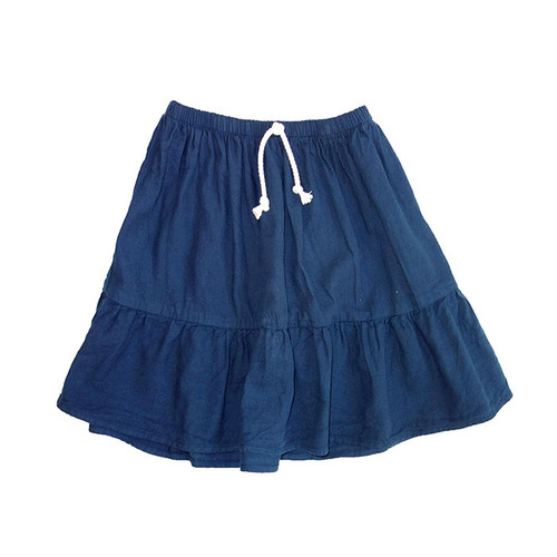 Eldorado Ruffle Skirt Regal Blue