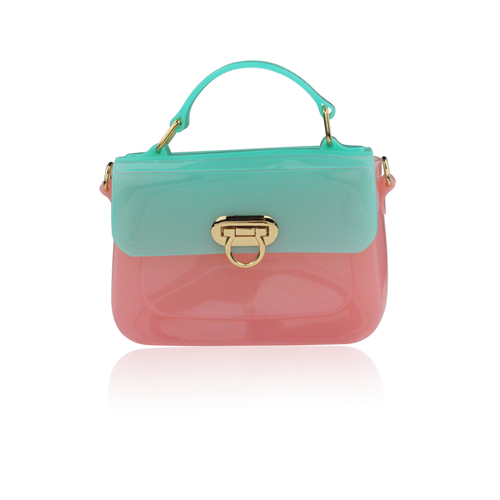 Millie Cross Body Bag Pink/Mint