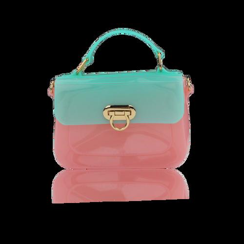 Millie Cross Body Bag Pink/Mint