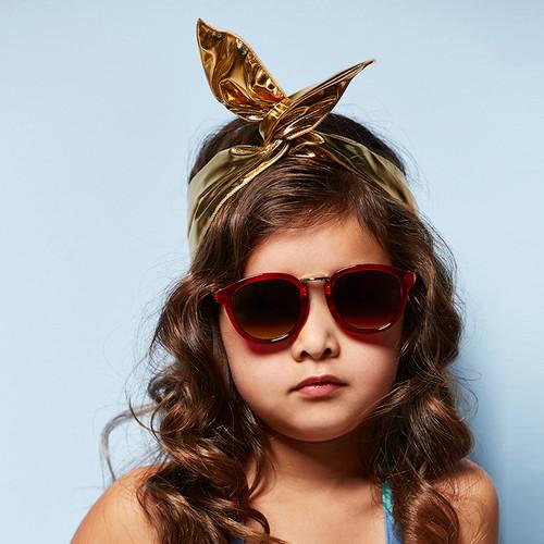 Metallic Twist Headband Gold