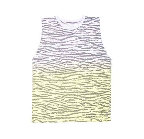 Tank Top Zebra Gradient