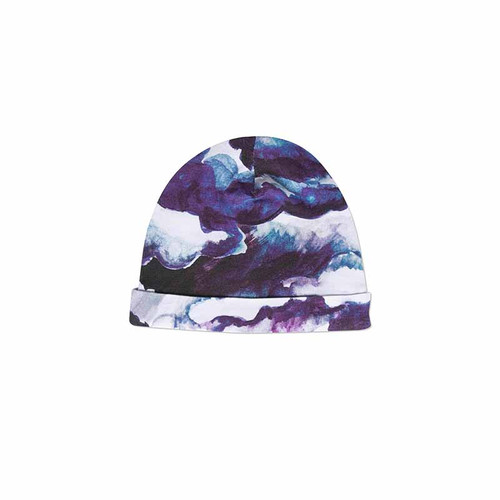 Purple Clouds Baby Beanie