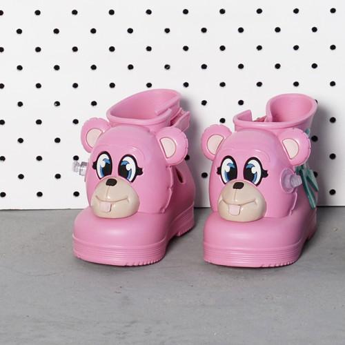 Monkey Boot + Jeremy Scott Pink Gloss