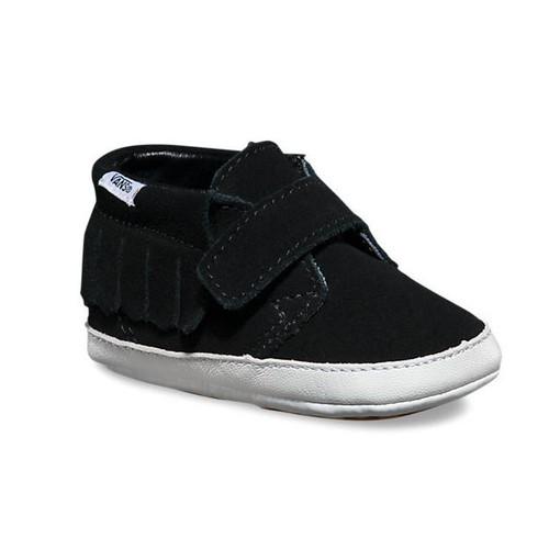 Infant Suede Chukka V Moc Black Shoes