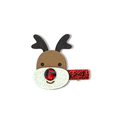 Christmas Rudolph Duck Clip