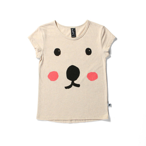 Bear Face Short Sleeve Tee