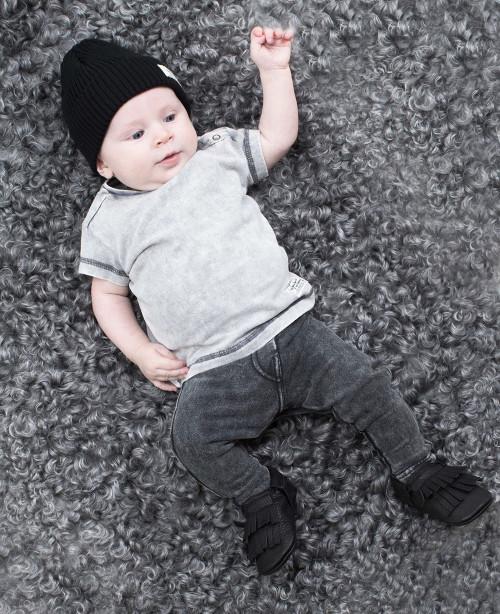 Lance Baby Tee Grey