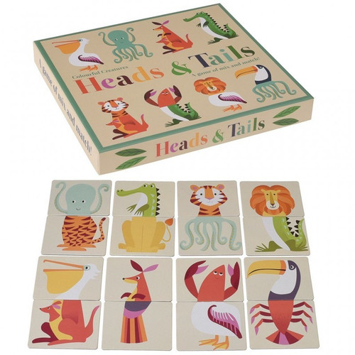 Creatures Heads and Tails Game