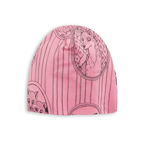 Fox Family Beanie Pink