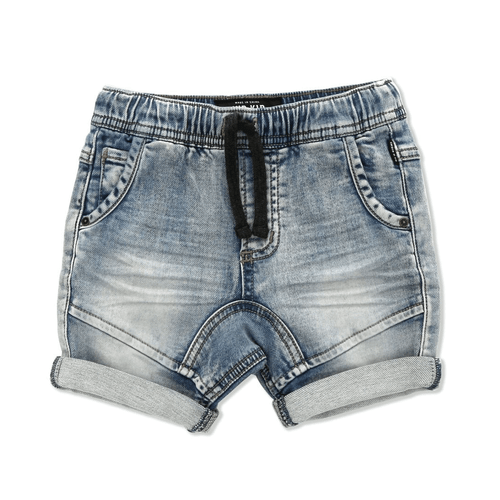 Drifter Jogger Shorts Light Denim