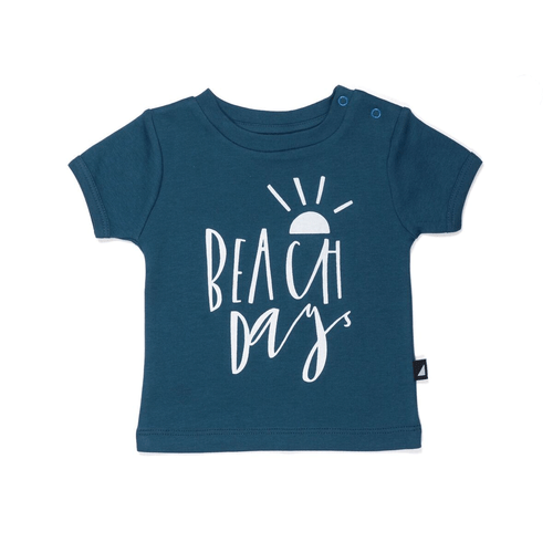 Beach Days Navy Tee