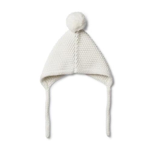 Cloud Knitted Bonnett