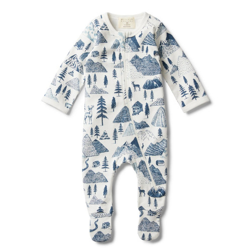 The Hills Zip Suit With Feet