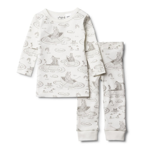 Little Row Boat Pyjama Set