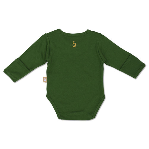 Babyushka Organic Long Sleeve Onesie Green