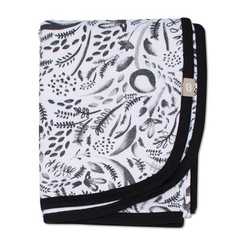 Babyushka Organic Blanket Black