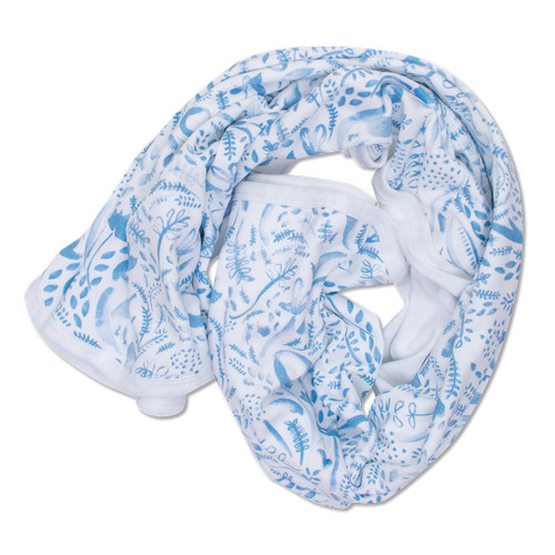 Babyushka Organic Blanket Blue