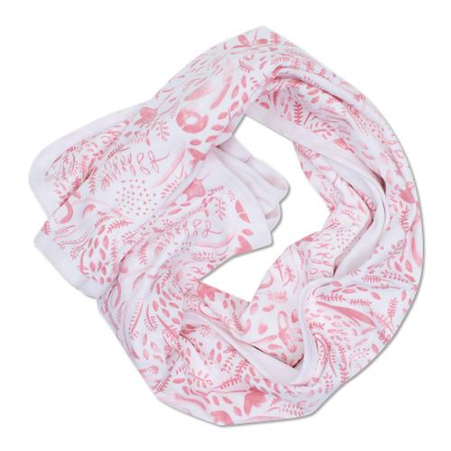 Babyushka Organic Blanket Pink
