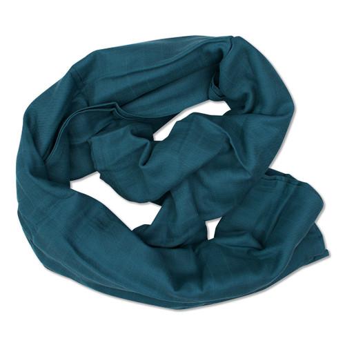 Babyushka Organic Muslin Wrap Blue