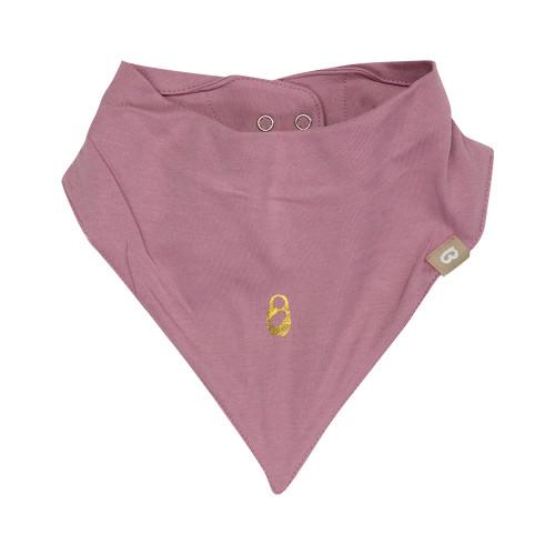 Babyushka Organic Bandana Bibs 2pk Pink