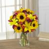 Harvest Heartstrings Bouquet Flowers Long Island