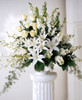 Light In Your Honor Arrangement Long Island Flower Delivery
