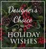 Designer's Choice Holiday Arrangement Long Island Flower Delivery