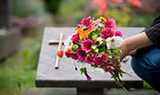Choosing the right flowers for a funeral