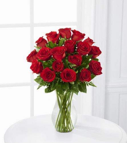 Blooming Masterpiece 24 Red Rose Bouquet Florist Long Island NY