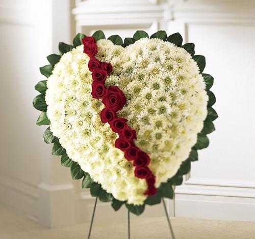 Broken Heart Long Island Florist