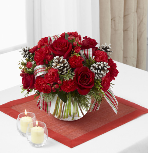 Christmas Peace Bouquet Long Island Flower Delivery