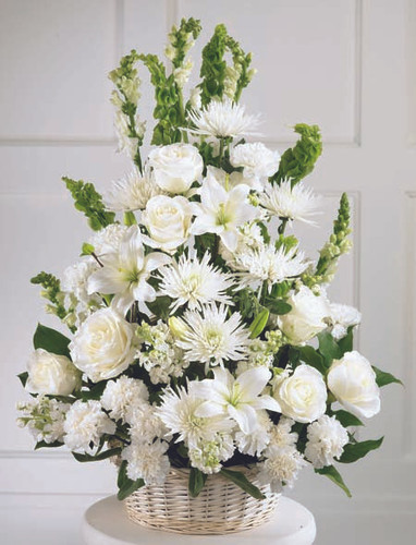 Eternal Light Arrangement Long Island Flower Delivery