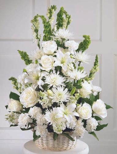 Eternal Light Arrangement Long Island Flower Delivery