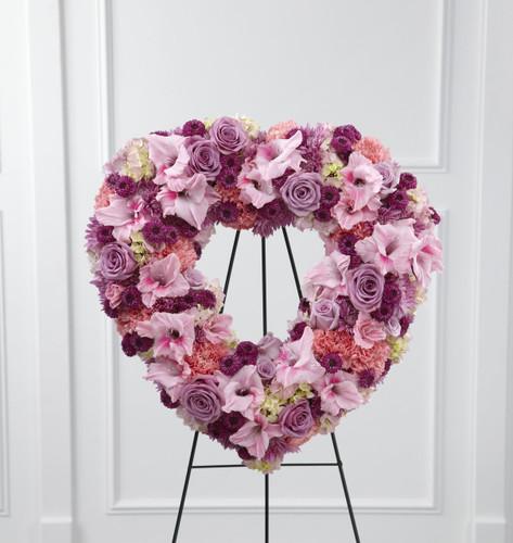 Eternal Rest Heart Long Island Florist