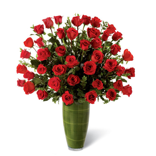 Fascinating Luxury Bouquet (36 Roses) Long Island Florist