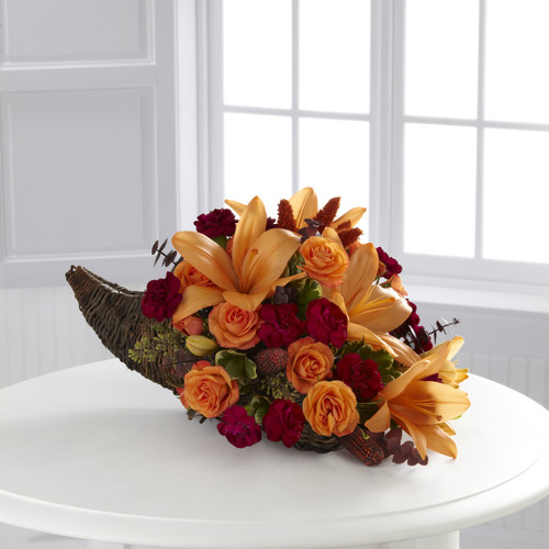 Harvest Home Cornucopia Long Island Florist