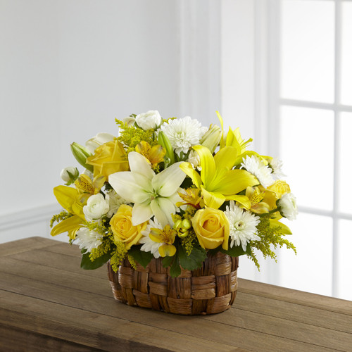 Natures Bounty Basket Long Island Florist