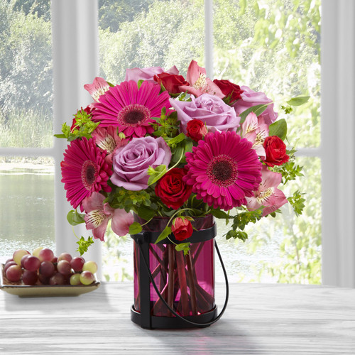 Pink Exuberance Bouquet by Better Homes and Gardens Florist Long Island NY