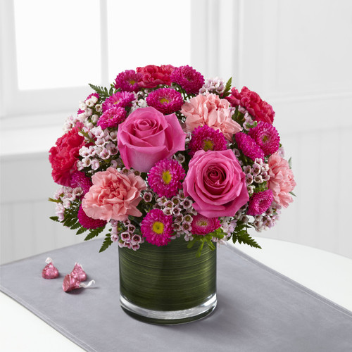 Pink Pursuits Bouquet Long Island Flower Delivery