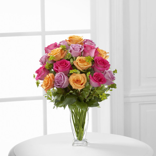 Pure Enchantment Rose Bouquet Flowers Long Island