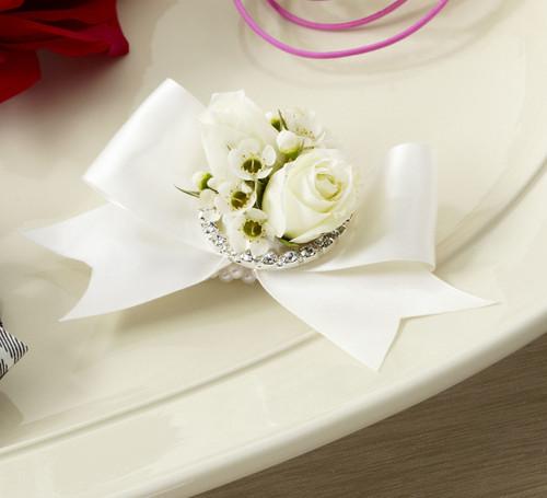 Pure Heaven Wristlet Long Island Florist
