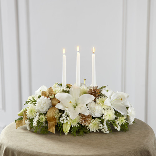 Seasons Glow Centerpiece Florist Long Island NY