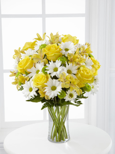 Sunny Sentiments Bouquet Flowers Long Island