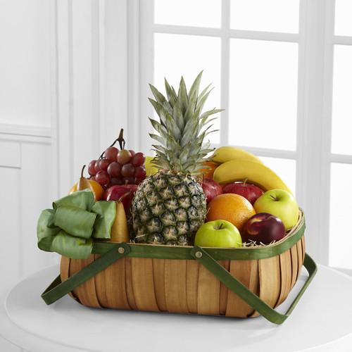 Thoughtful Gesture Fruit Basket Long Island Flower Delivery