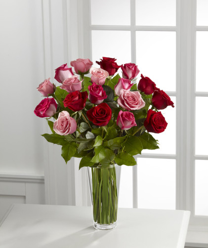 True Romance Rose Bouquet Long Island Flower Delivery