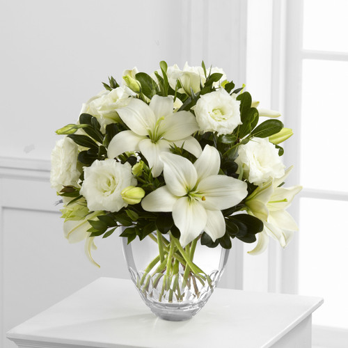 White Elegance Bouquet by Vera Wang Florist Long Island NY