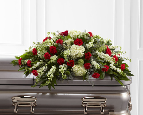 The Sincerity Casket Spray Long Island Flower Delivery