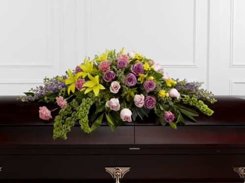The Forever Beloved Casket Spray Long Island Florist